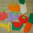 折り紙の果物と野菜
